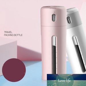 4 em 1 portátil Lotion Dispenser Bottle Set Viagem Emulsion Garrafa de viagem Dispenser Shampoo Imprensa Container recarregáveis