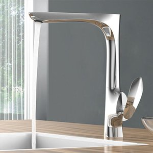 Basin Sink Faucet New Arrival Bathroom Faucet Luxury Brass Brushed Gold Finished Cold and Hot Water Tap Mixer Chrome Deck Mount