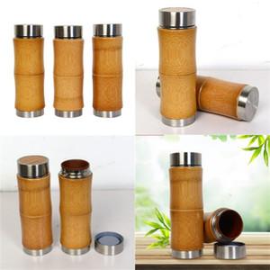 Новый продукт из нержавеющей стали бамбуковые кофейные чашки Creative Ceramics вакуумная бутылка держит теплые чашки Boccaro четыре сезона генерал 23 9JFH1