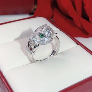 Взрывоопасные деньги животных леопардовые кольца нейтральные личности кольцо мерцание превосходное качество знаменитости любовь кольца глаза инкрустированы зеленым кристаллом