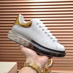 Hommes Plateforme Chaussures Coussins Cristal Fantassis Femmes Banquette Greninée En daim Black Strass En Cuir Lovers Sneakers Plat Designer Casual Chaussures