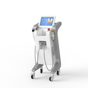 Máquina de micereleedling nueva vertical blanca Pixel 2 Fractora RF Dermapen Microneedle Máquina para el cuidado de la piel cosmética