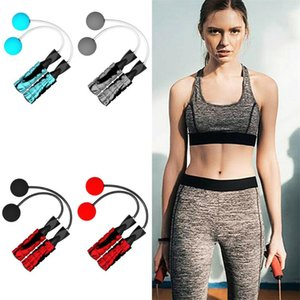 1 Pair Creative Ropeless Adjustable Jump Rope Weighted Cordless Skipping Rope Indoor Gym Bodybuilding Training Fitness Equipment