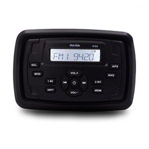 Wasserdichter Marine Bluetooth-Radio-Audio-Soundsystem FM AM-Empfänger Square MP3-Player für RV UTV-Auto Bootswagen Motorrad1