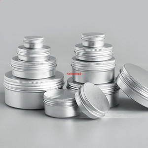 5g 10g 15g 20g 30g Mini Sample Aluminum Cream Jar Pot Nail Polish Face Highlighter Powder Empty Cosmetic Metal Containers 50pcspls order