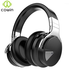 Cowin e7 [ترقية] anc سماعات بلوتوث النشطة إلغاء الضوضاء سماعة لاسلكية هيفي سماعات باس العميق مع ميكروفون 1