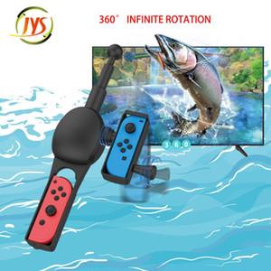 Pesca Jogo Kit Pesca Handle Rod Para Mudar JoyCon Spirits Fácil Utilização precisa colocar seus dois Joy-con 27g3