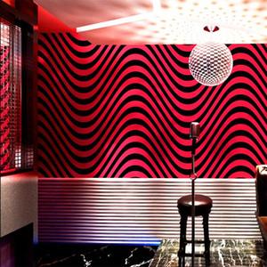 KTV Wallpaper Karaoke Flash Flash Cobertura 3D Reflectante Especial Tema Theme Box Internet Cafe Wifi Fondo Papeles de pared Inicio de