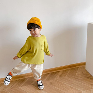 Spring Autumn boys candy color loose sweatshirts New arrival long sleeve casual pullover