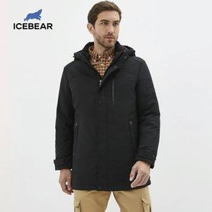 Abajo cubren las chaquetas con capucha de Down Chaquetas Moda icebear nuevos hombres de invierno para hombre Parkas MN218661P 201022