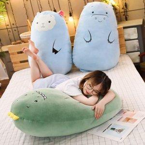 A001 50cm Cute Plush Dinosaur Pillow Stuffed Animals Soft Doll Dinosaur Plush Toys Gifts holding a sleeping doll long pillow KKA8082