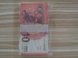 Banknote Euro Money Children's 10 01 Size Movie Paper Prop Fake Gift Creative Normal Dollar Klirp