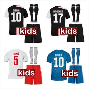 Juventus Camiseta De Fútbol equipniños  2019 2020 Juventus kids  DE LIGT RONALDO DYBALA MARCHISIO MANDZUKIC fútbol Camiseta