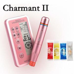 Charme Princesse Перманентный макияж Pen Digital Machine, Интеллектуальная панель управления, Spiral интерфейс картриджа питания suGp #