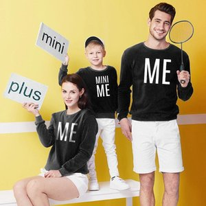 Fall Mother Daughter Father Son Mommy Daddy And Me Baby Girls Sweatshirt Family Looks Woman Clothes Big Sister Clothing Spring Autumn WY6012