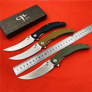 Haute qualité Flipper Sultan-G10 couteau pliant D2 Lame Alpinisme Camping Chasse Pêche Trekking Couteau de poche de fruits EDC Outils tactiques