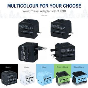 UK US EU AUS type plug usb socket creative smart plug multi-function line card mobile phone charging wiring board safety