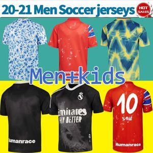 HRFC Jerseys Real Madrid 2021 Collection de race humaine HU Chemises de football Hommes Uniformes de football personnalisé Hommes + Enfants