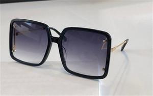 نظارات شمسية تصميم موضة جديدة 2036 إطار سكوير كلاسيكي بسيط الطليعي