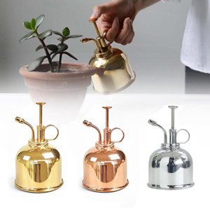 300ml Mini Copper flor da planta Regar Pot Garrafa de Spray Garden Senhor pulverizador de água Garrafa de Spray Jardim Supplies