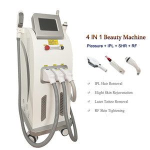 Professional picosecond laser beauty equipment Q switch pico tattoo removal ipl hair removal rf machine Acne Scars Treatment