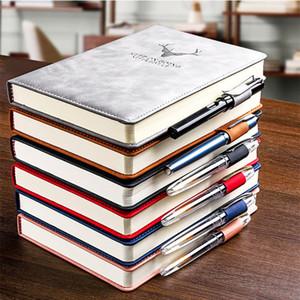 360 صفحات سوبر سميكة الشمع شعور جلدية A5 مجلة دفتر دفتر اليومية مكتب الأعمال دفتر الملاحظات المفكرة مذكرات اللوازم المدرسية