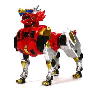 in Action Figure Children Gifts Doll Toys Transformation Dinozord Robot Deformation Dinosaur Rangers Megazord