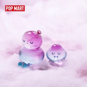 POP MART BOBO and COCO Basic series pop arttoys figure action blind box kawaii toy sweet cute gift kids toy 201017