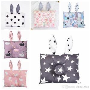 Baby Oreillers oreilles coussin pour bébés coussin de dessin animé oreille coussinets bébé stéréotypes oreiller oreiller literie 23 designs DHW2682