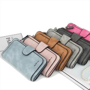 Frauen-Dame Leather Trifold Karten-Mappen-Kupplungs-Scheckheft-Handtasche mit Reißverschluss Geldbeutel-Karten-Telefon-Halter langen Entwurfs-Dame-Fashion Wallets