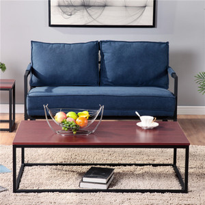 US STOCK Hot Selling Solid Wood Coffee Table Brown Suitable for All Kinds of Living Room Furniture