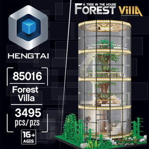 New 85016 MOC Street View Botanic Gardens Modular Building Model Assembly 3495pcs Blocks Bricks Toy Christmas Gifts