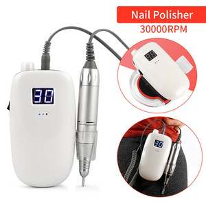 36W Nail Drill Machine Kit Professional Electric Nail Polisher Portable Wireless Charging Manicure Pedicure Nail Beauty Device