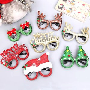 2021 New Year Gifts Santa Claus Snowman Frame Glasses Navidad Ornaments Christmas Decorations Natal Noel Xmas Christmas Decor