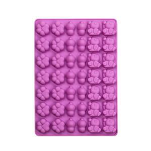 Panda Cat Paw Forma Forma Molde Cute Epoxy Resina Silicone Resistência de Alta Temperatura Molde de Chocolate Biscoito Bolo Bakeware Moldes Venda Quente 3 1XG L2