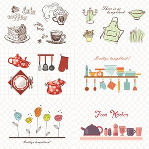 Kitchen Waterproof Wall Stickers Oil Proof Paper Self-adhesive High Temperature Anti-oil Stickers Home Stove Tile Wallpaper BED2576