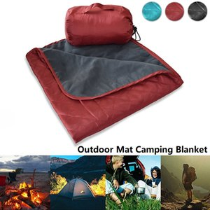 Mountaineering Field Camping Mat Outdoor Cold and Warm Fleece Picnic Mat Office Sofa Lunch Break Mat Air Conditioning Blanket