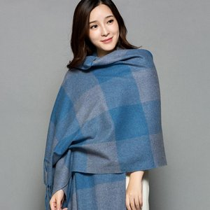 Artificial Cheshanf Women Scarf Explosion Warm Cape Lady Winter Scarves Shawls Stoles Blanket Poncho Hijab New