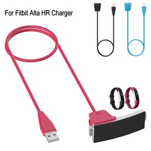 USB-кабель для зарядки FitBit Альта HR зарядное устройство черный зарядки Шнуры линии С Сброс Функция Смарт часы Dock Adapter