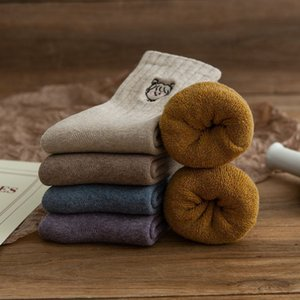 Winter Thicken Warm Towel Socks for Women Girls Fashion Cartoon Girls Pattern Cotton Socks 20pairs lot