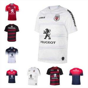 Qualität 20 Toulouse Rugby Jerseys League Jersey Tluth Shirt Freizeit Sport Lentulus Hemden S-5XL