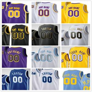 Individuell gedruckt Alex 4 Caruso Anthony 6 23 Davis Kyle 0 Kuzma Dennis 17 Schroder Montrezl 5 Harrell Männer Frau Kinder Jugend Basketball Trikots