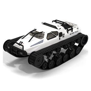 SG 1203 presentes Rádio RC Car 2.4G 12 kmh deriva RC Tank Car alta velocidade proporcional completa Crawler Veículo Controle RC brinquedo para crianças
