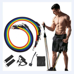 Pull Rope Fitness Exercises Resistance Bands Latex Tubes Pedal Excerciser Body Training Workout Yoga Gym Home Accessories OWC2591
