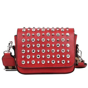 Crossbody Bags For Women Flap Rivet Fashion Vintage Women Bags Good Quality PU Leather Message For
