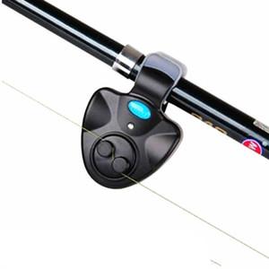 Impermeable alarma mordedura de la pesca de sensibilidad digital herramienta Bite Indicador de bandas en la pesca de la alarma de Rod de la carpa Pesca de la noche Hook Inteligente