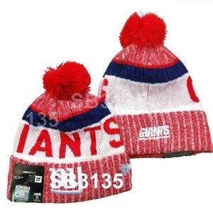 Nyg Hat Giants Beanie de punto Beanie Mujer Hombre Hombre Sombrero de lana Captura crucial Entepp Cancer Knit Bonnet Gorros Gorro Cálido de invierno Cap A27