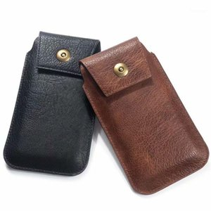 Vintage Men Leather PU Waist Loop Belt Pouch Holster Carry Phone Hip Purse1 Bag Pocket Wallet Case Portable Ghhql