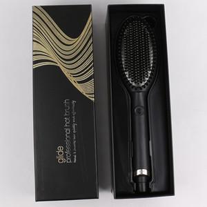 2021 Glide Heißes Haarbürste Ein Schritt Haartrockner Styler Volumizer Multifunktionsfunktionelle Glurliche Haarbürste mit negativen Ionen
