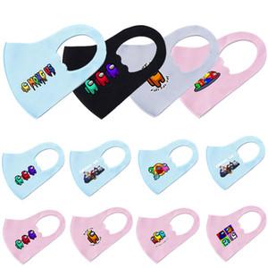 AMONG US Designer Face Masks Child Game KID Games Printed Masks Ice Silk Mask Party Masks For Boy Girl